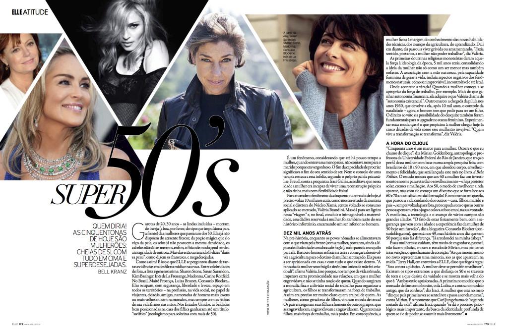 Elle Brasil, Agosto 2013