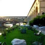 Jantando às margens do Arno…