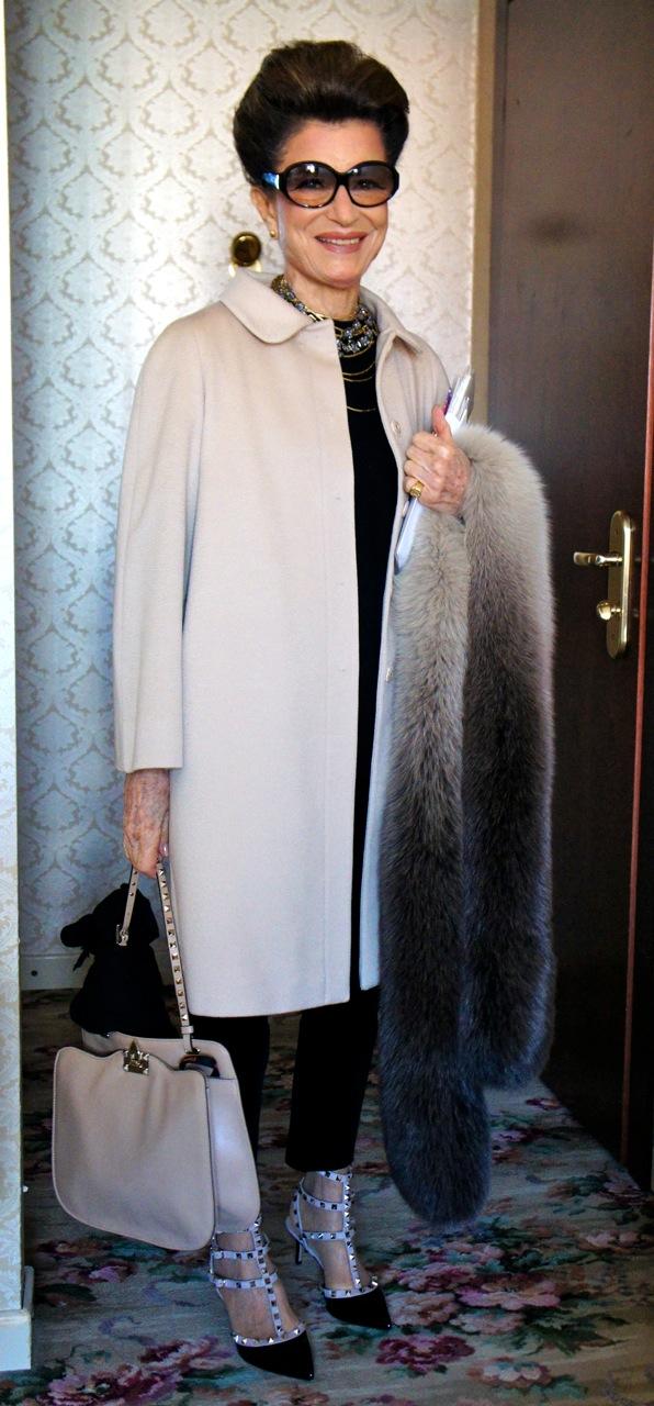 Costanza look 2º Giorno-Semana de moda de Milão