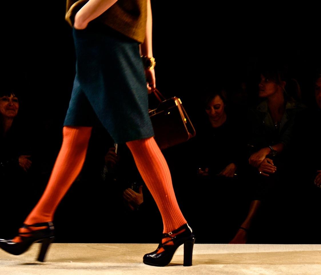 Alguns momentos da semana de moda de Milão