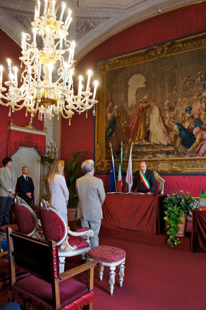 casamento civil em Florença