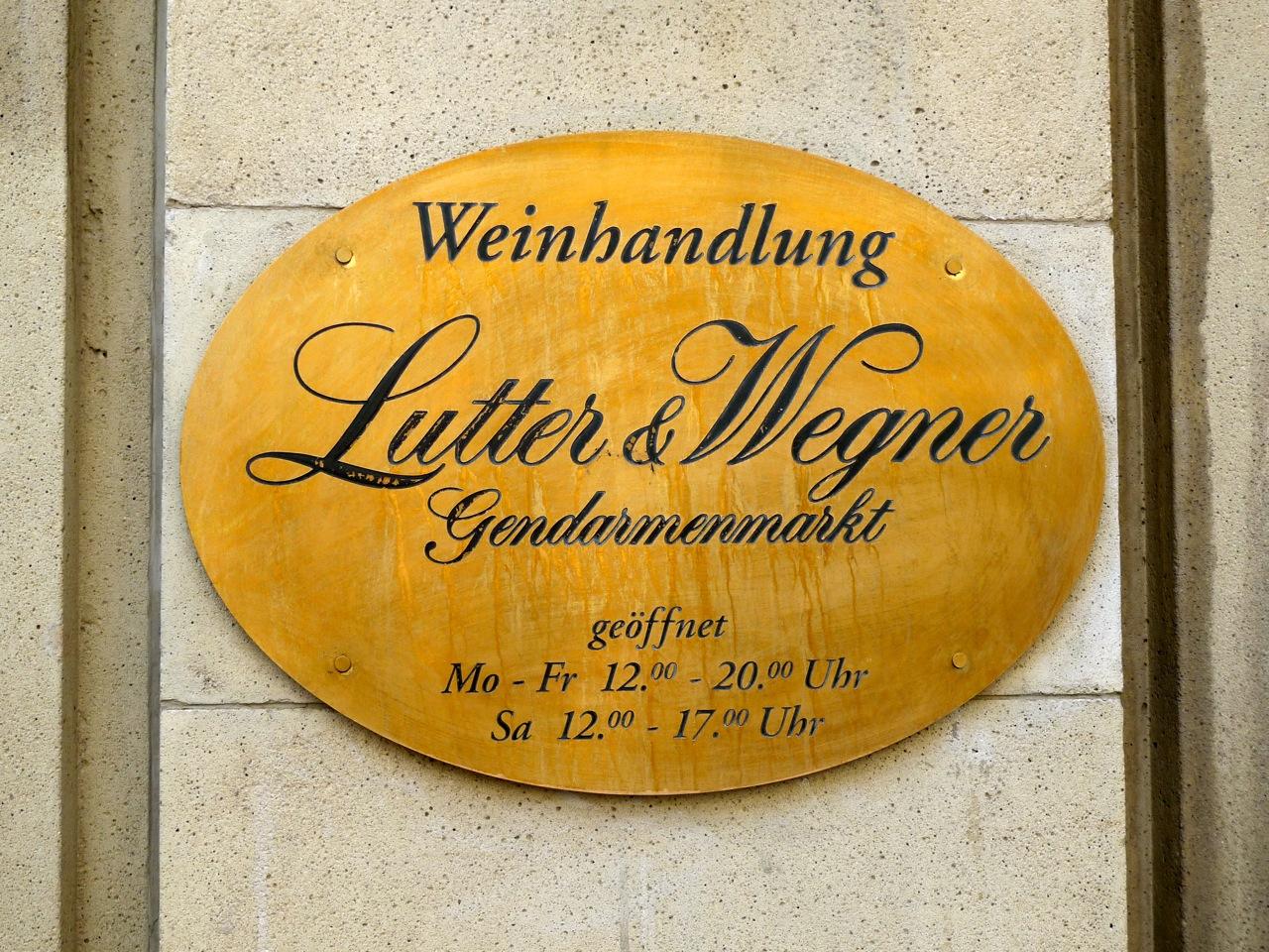 Onde comer em Berlim?-Lutter & Wegner