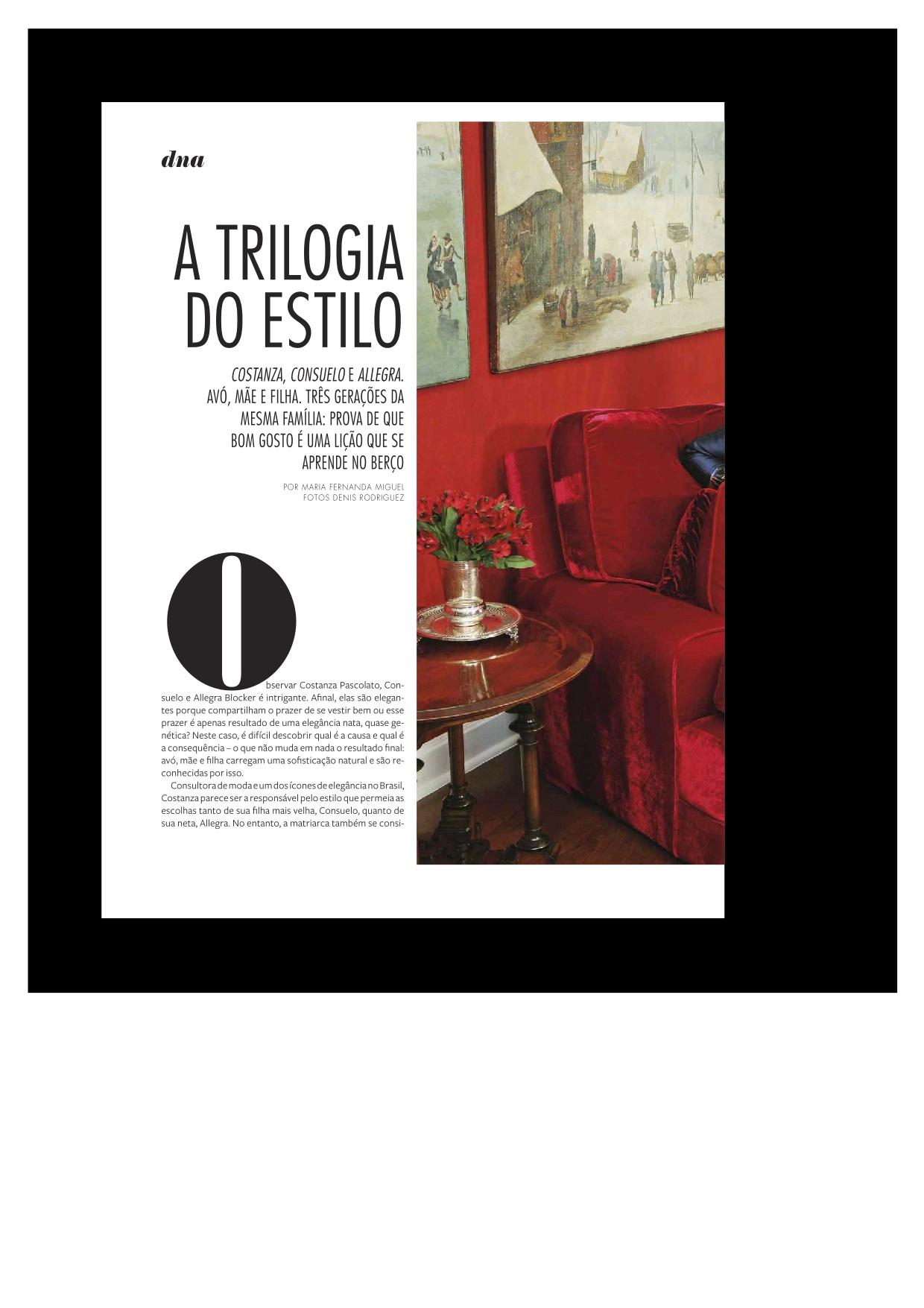Entrevista Revista Moda