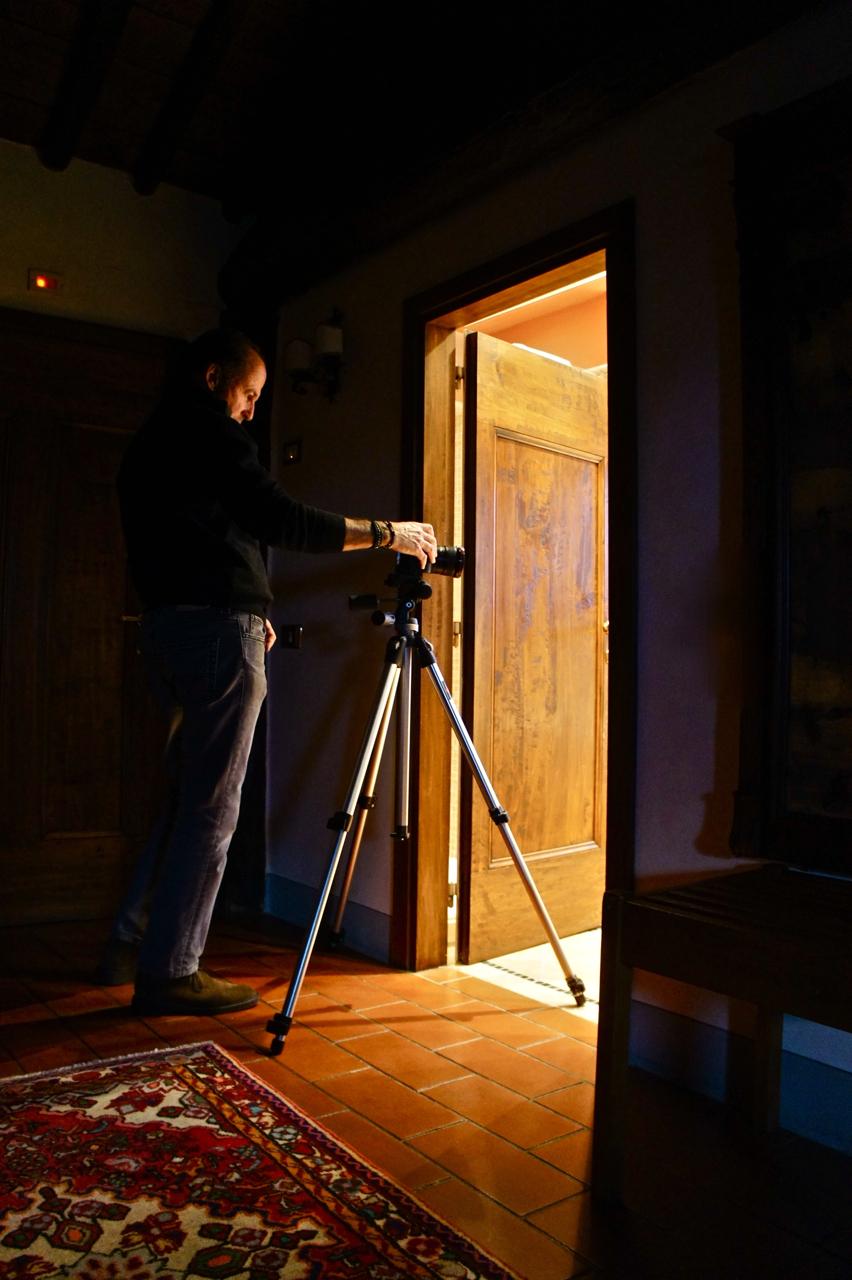 O fotógrafo fala…Roberto fala ao salotto.
