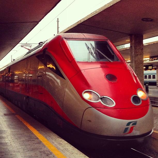 O trem para Bolonha!