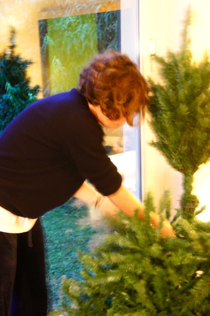 Pra mim, árvore de natal só kitch!!