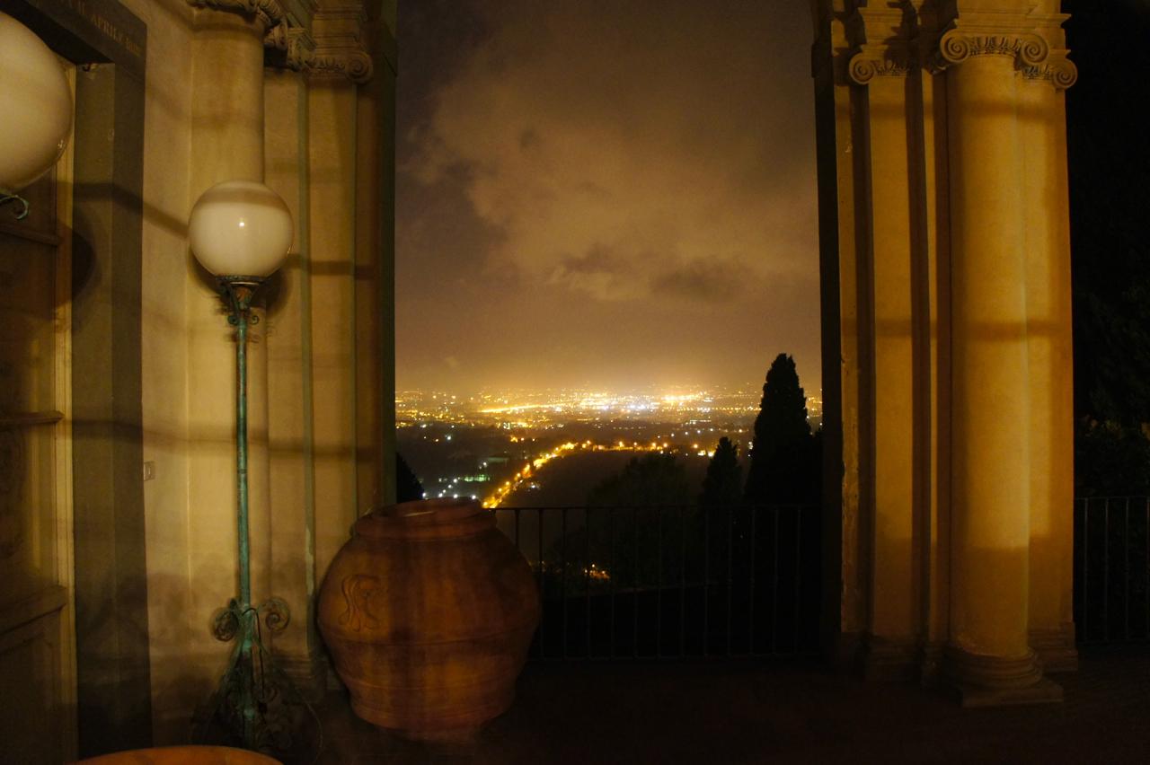 Da janela, esta vista de Florença...