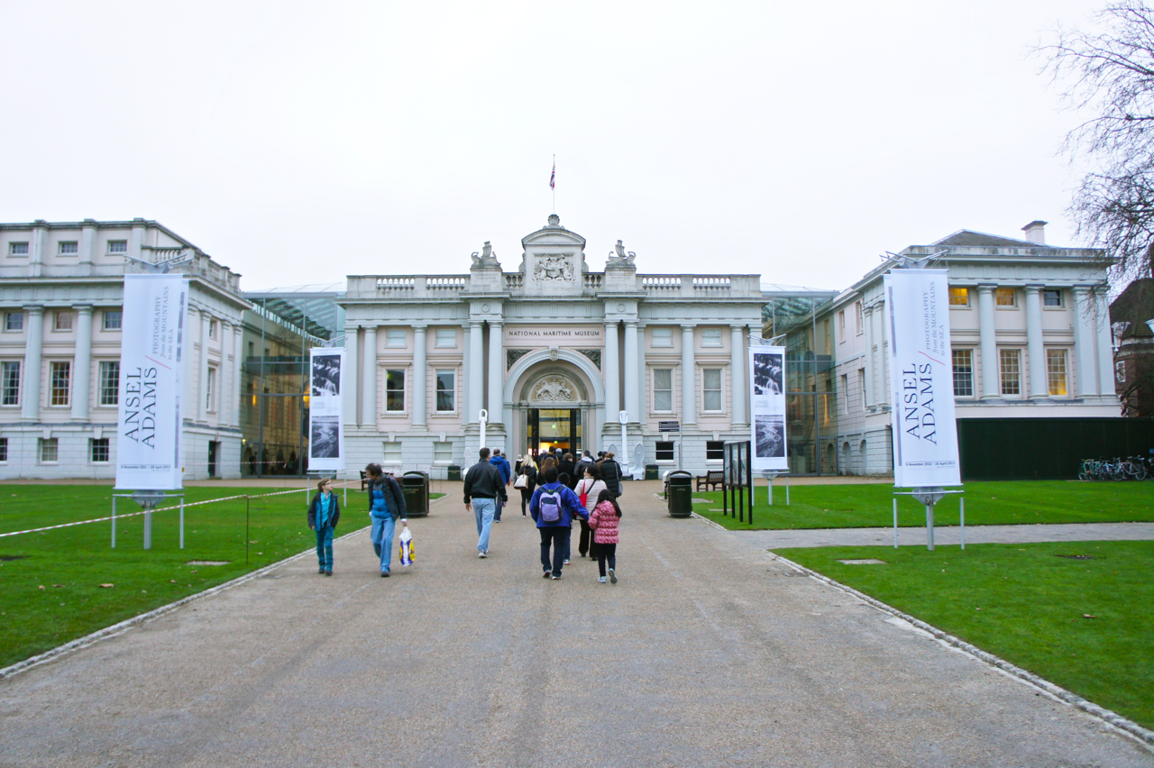 O National Maritime Museum em Greenwich.