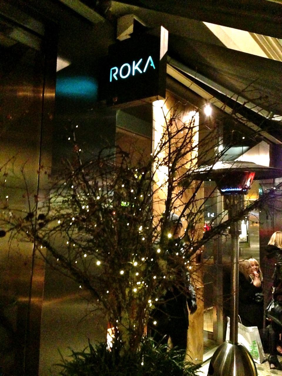 O restaurante Roka japonês é do mesmo grupo do Zuma.