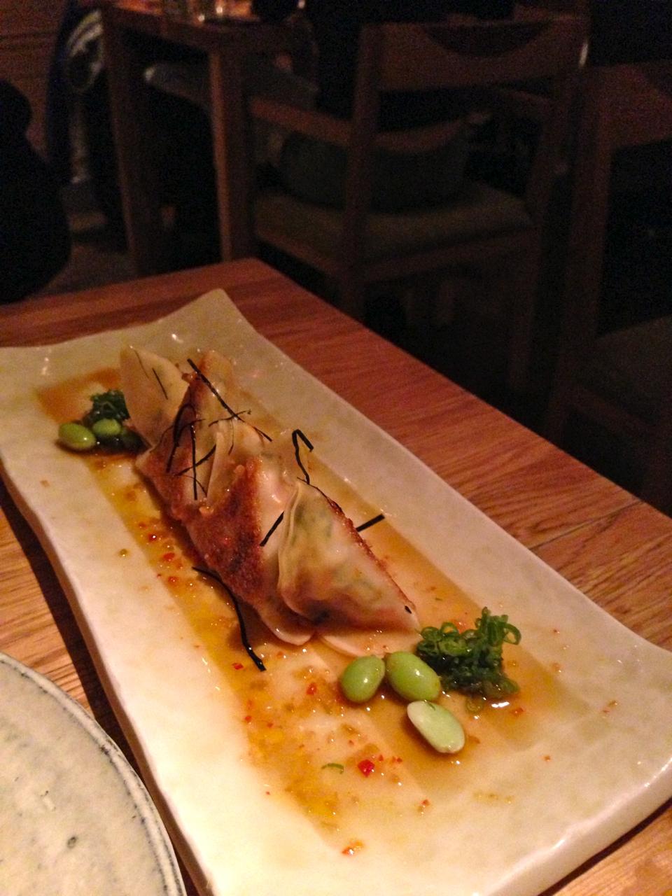 Dumpling de camarões