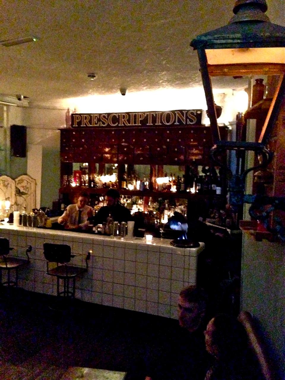 Finalmente chegamos ao bar/laboratório.