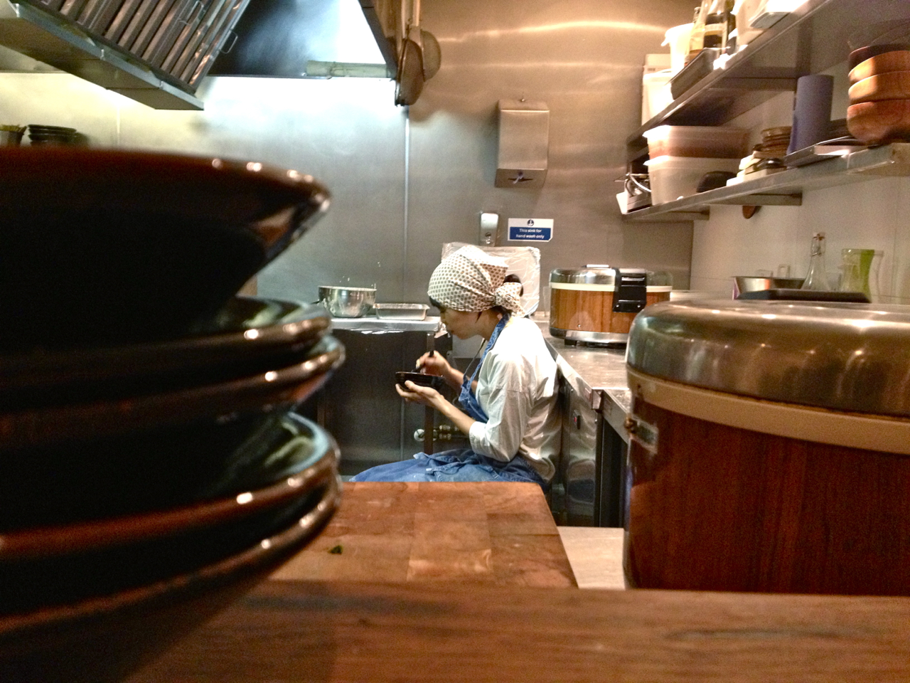 Os cozinheiros também gostam do Udon...