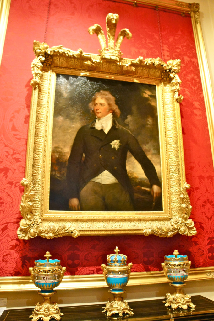 Este Prince of Whales era amigo do Marquess e o contaminou com a vontade de colecionar arte francesa do Século 18.