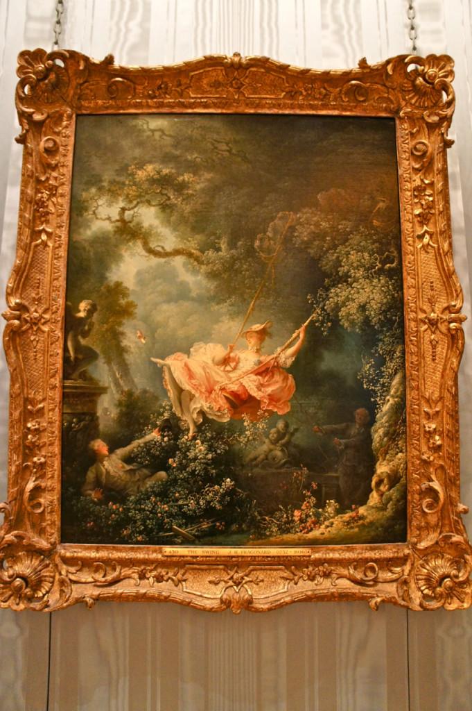 Outra obra famosa de Fragonard.  O jogo de erotismo e natureza neste quadro da época Rococo é uma obra prima. 1767