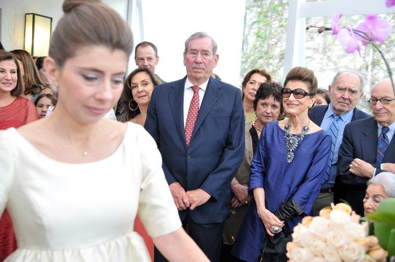 A cerimônia foi linda, emocionante (dá pra ver no rosto dos meus pais) e...curta! Iupiii!