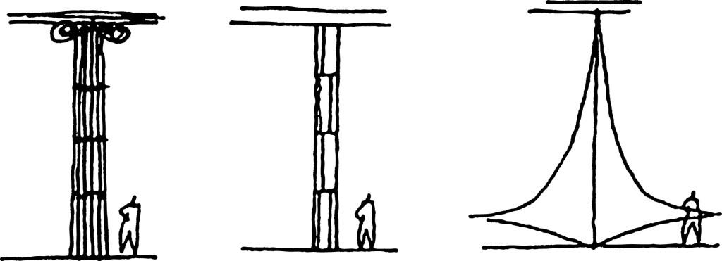 ALVORADA - desenho de Oscar Niemeyer