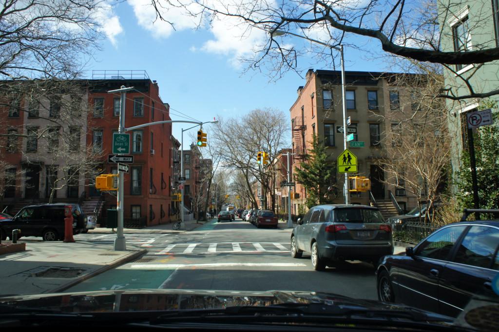 Brooklyn, onde fomos hoje, é bem residencial.
