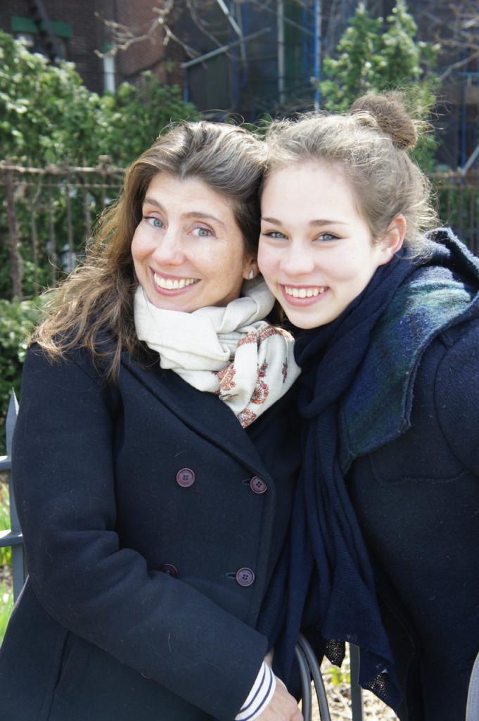 Minha irmã Alessandra e filha Allegra!