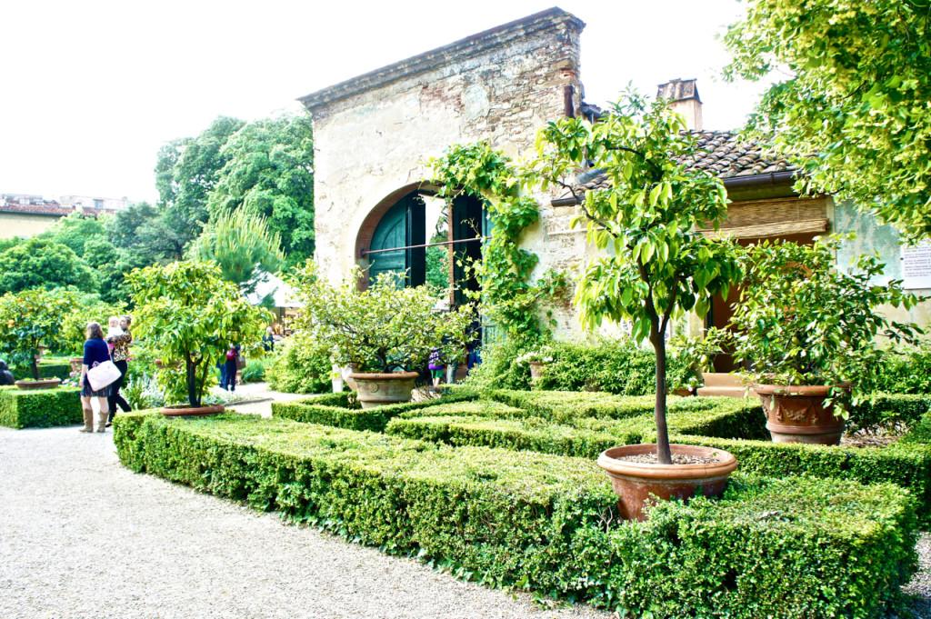 O jardim é uma maravilha de 1600.