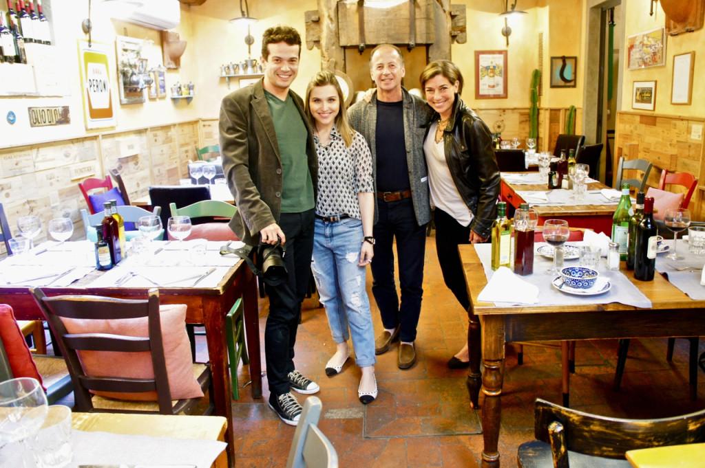Almoçamos com a querida Lu Ferreira e seu Leo no 13 Gobbi...