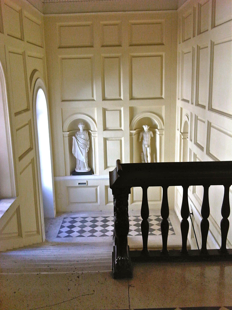Entrada do lindo palácio.