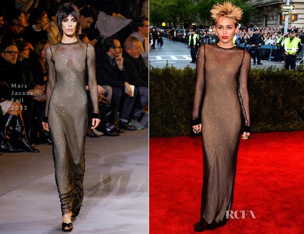 Miley Cyrus em Marc Jacobs