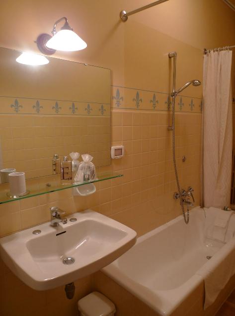 Exemplo dos banheiros