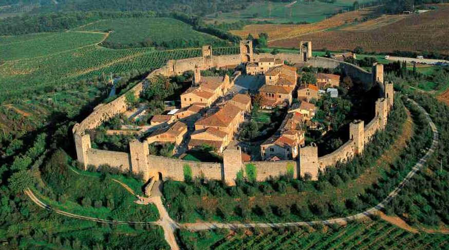 A vista de cima! Imagem do blog Parlare Italiano.