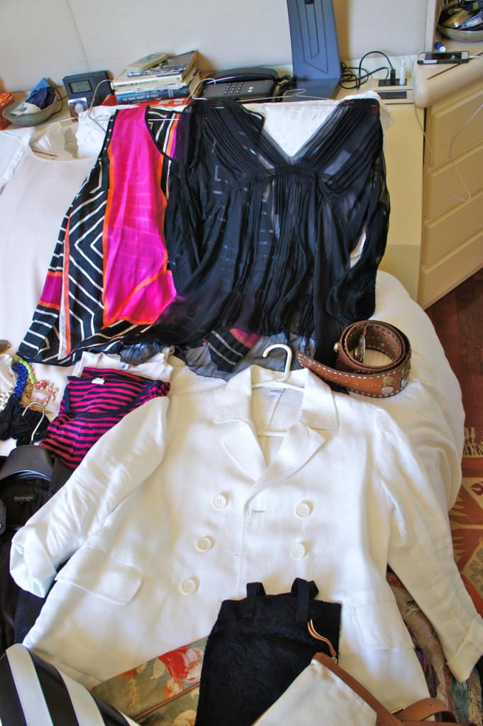 O blazer de linho branco para quando fizer mais friozinho...
