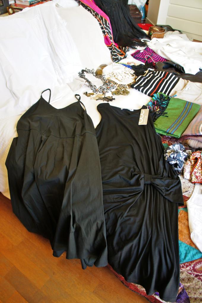 Vestidinhos leves e gostosos.  O da direita é da nossa amiga do salotto a Angela Motta.