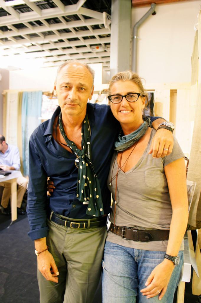 Daria e Andrea, criadores, designers e donos da Chez Dédé.