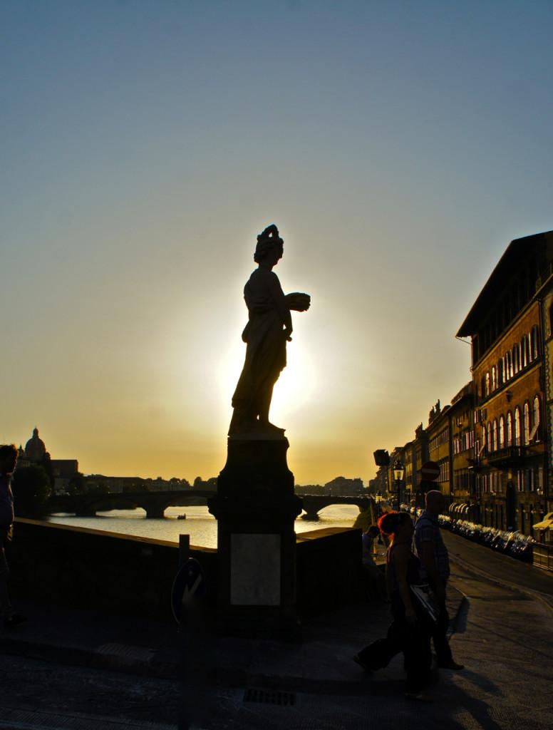 Pôr do sol em Florença!!...