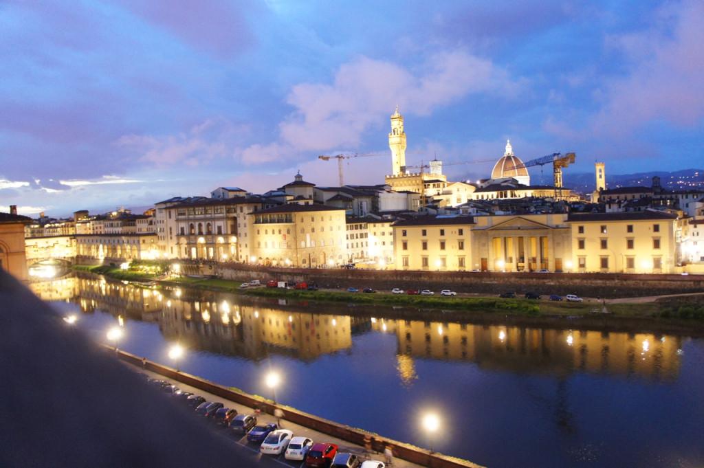 A vista de Florença, como sempre, de tirar o fôlego!