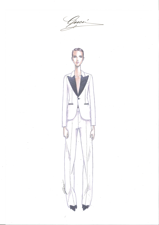 Milão: Gucci Uomo e Lapo's wardrobe