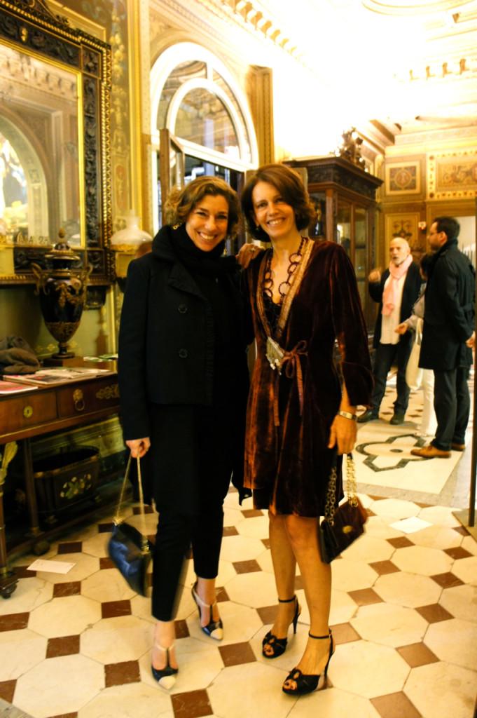 Com a amiga Maria, aquela que aluga o apartamento em Londres