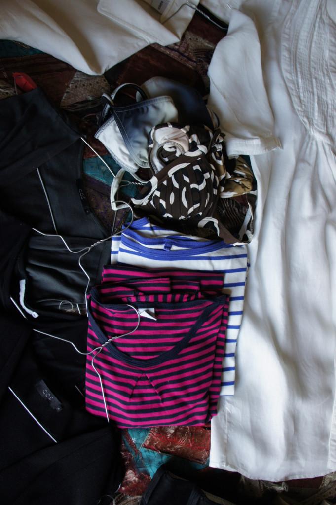 Camisolas e biquinis