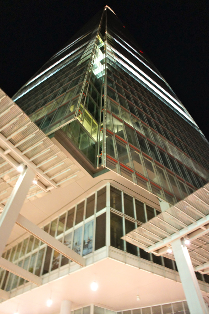 O prédio mais alto da Europa, o The Shard em Londres pelo arquiteto italiano, Renzo Piano.