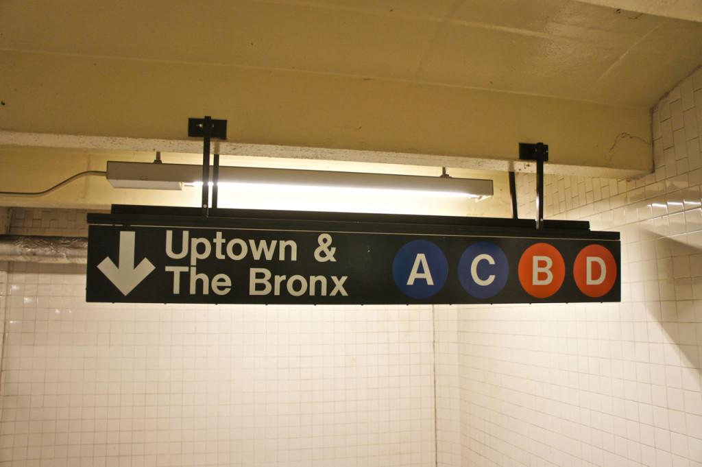 Para chegar ao The Cloisters, pega-se o express tran A Uptown.