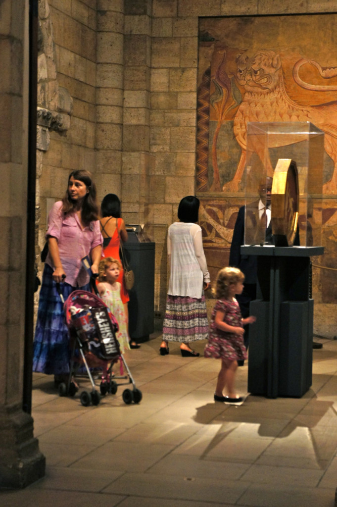 O museu é espaço para crianças também...