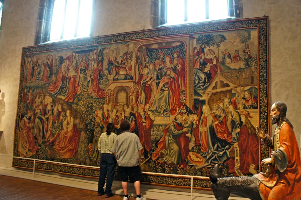 Outra sala com lindas tapeçarias...
