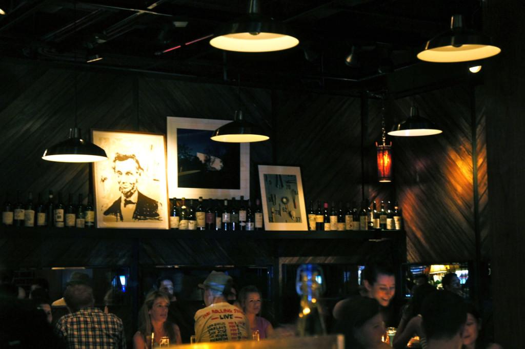 O B&B é mais um restaurante.  Mas sentamos no bar e os drinks estavam uma delícia!!
