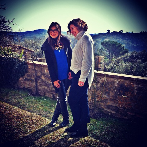 753e0fa788e47 Passeando por Florença com Erika Okazaki e conversando sobre ...