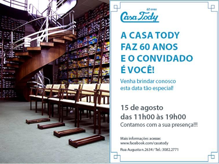 São Paulo: Casa Tody!!
