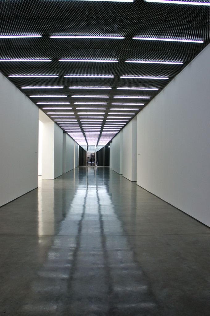 A entrada do White Cube em Bermondsey