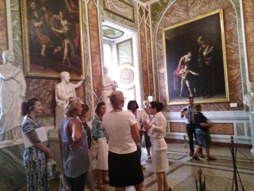 Sala do Caravaggio