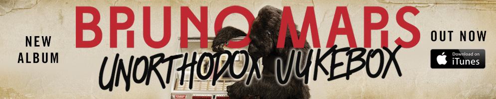 Unorthodox Jukebox é o novo álbum de Bruno Mars