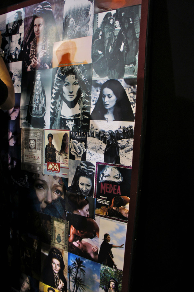 O mood board no backstage.