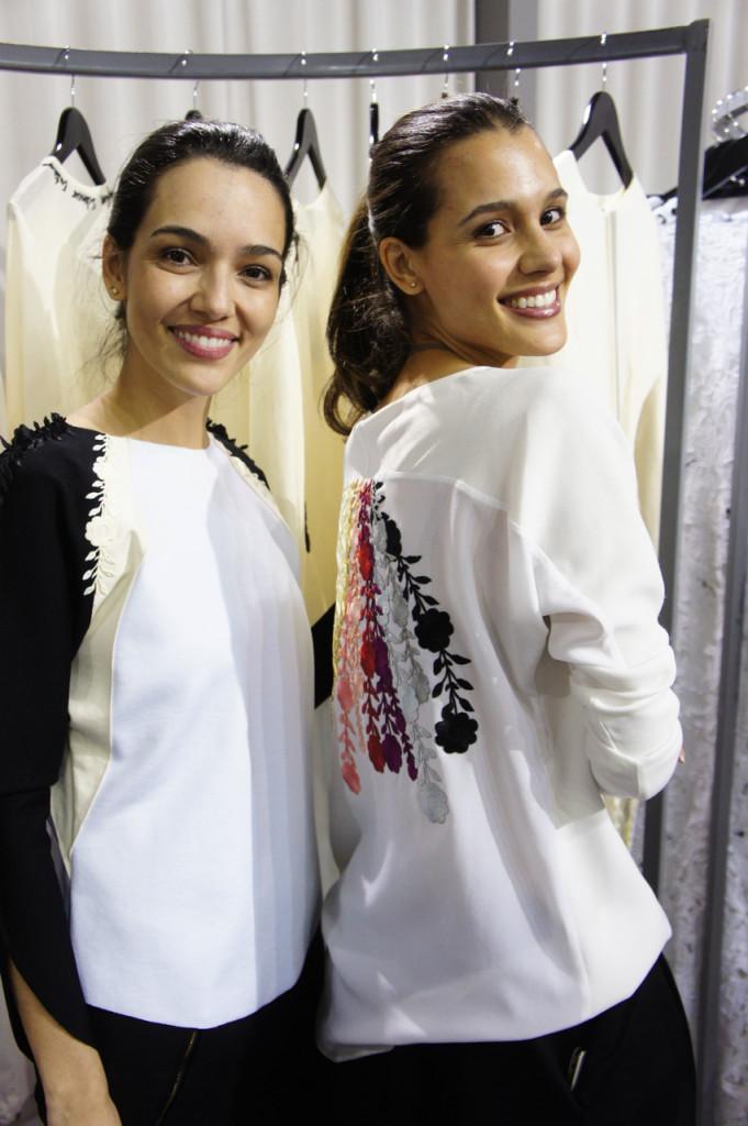 Laura e Lorena Andrade criadoras da Llas