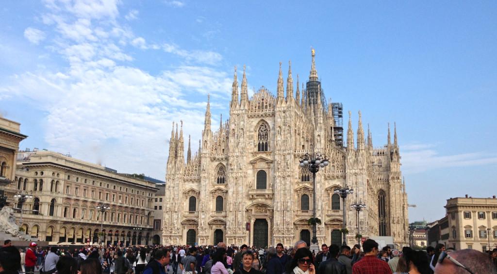 O Duomo de Milão