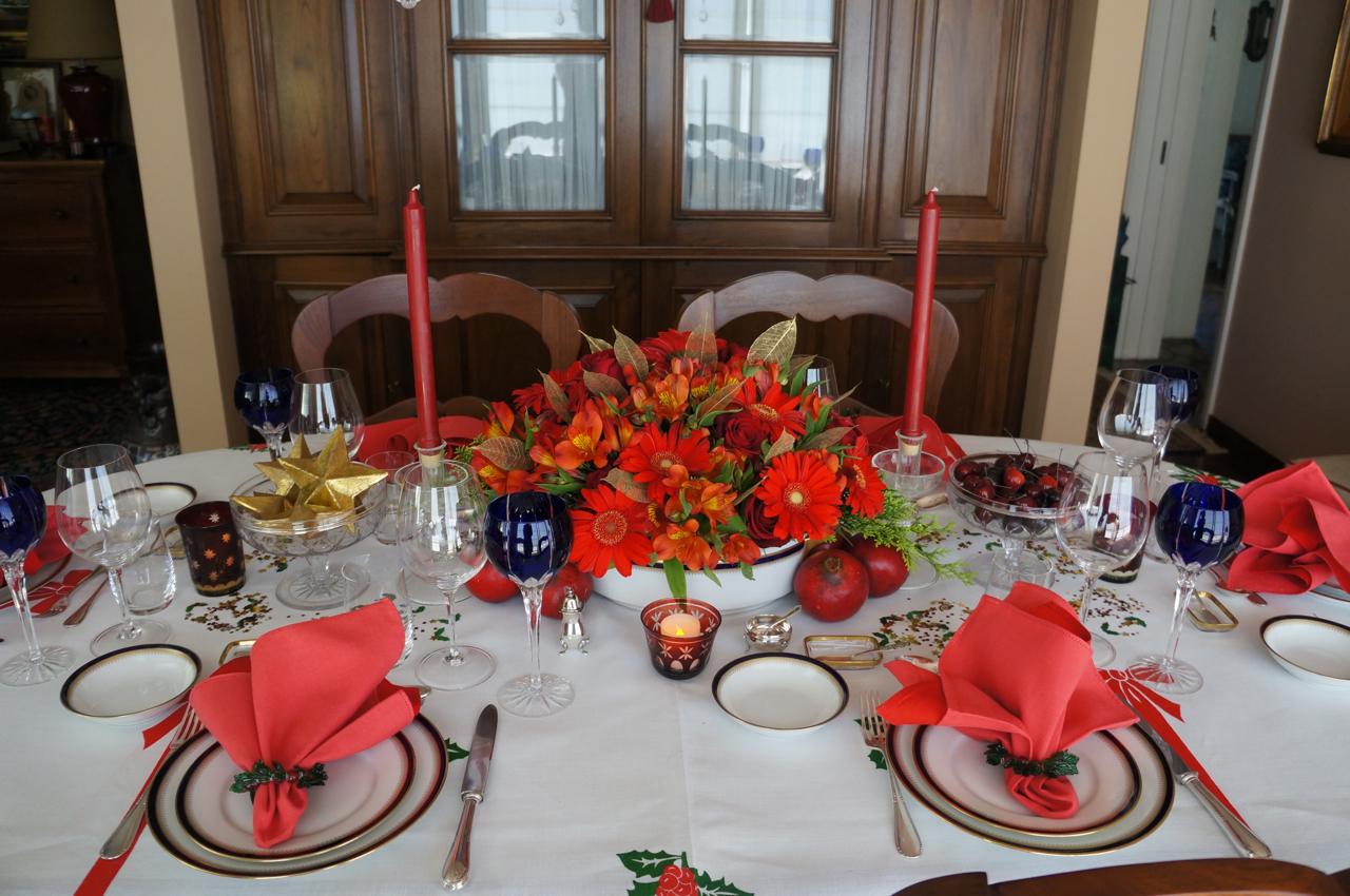 Mesa natalina!! Um presente de Maria Araci d'Avila
